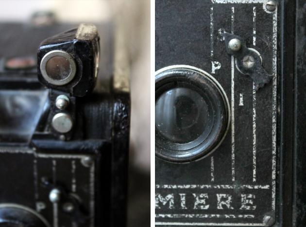 Detalles camara vintage Lumiere