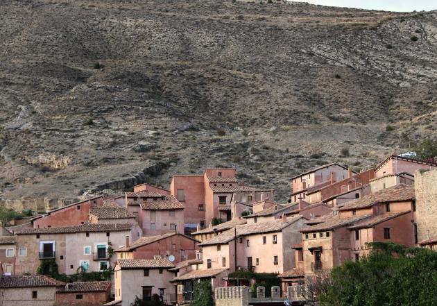 Vista general de Albarracin, Teruel