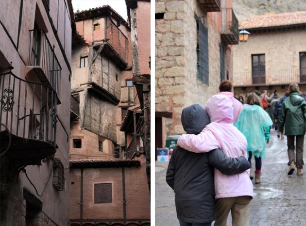 Paseo por Albarracin, Teruel