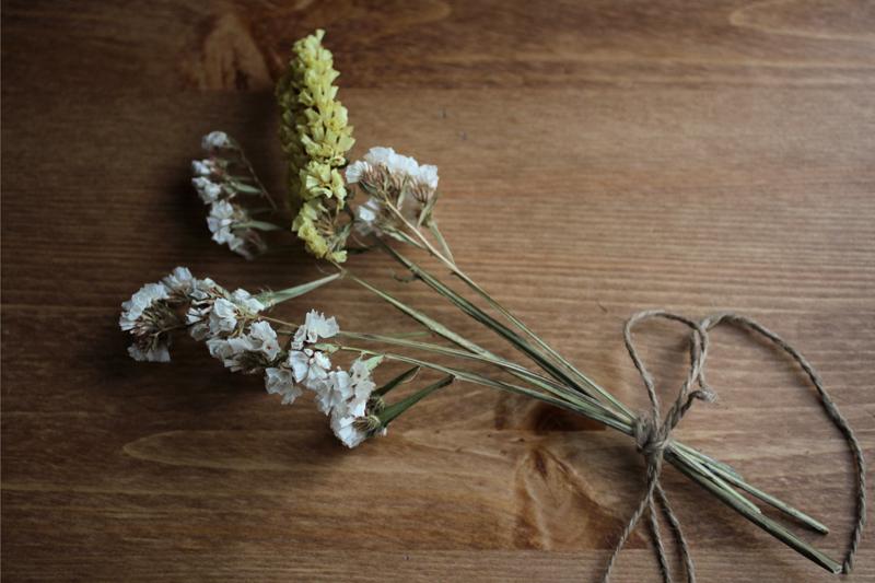 Pequeño ramo de flores
